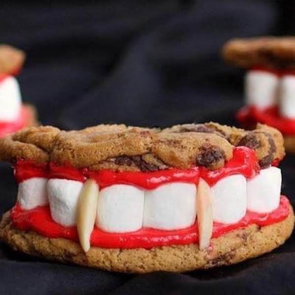 Vampire Teeth Cookies Recipe