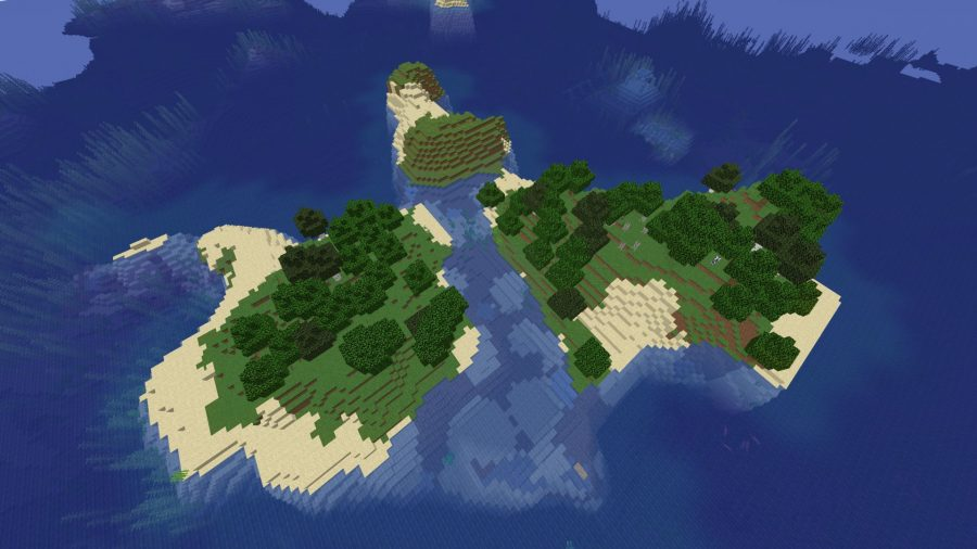 Ocean Monument Island Survival Minecraft Seed