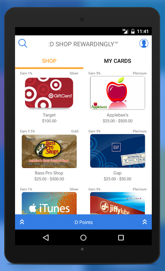 Dlyted: Shop, Earn, & Give- screenshot