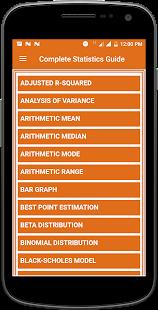 Complete Statistics Guide - náhled