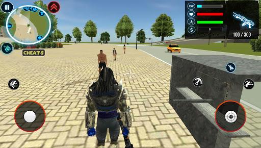 Satan Rope Hero Gangstar Crime 1.4 Screenshots 4
