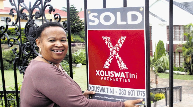 Estate agent Xoliswa Tini. Picture: YANDISA MONAKALI/DAILY DISPATCH