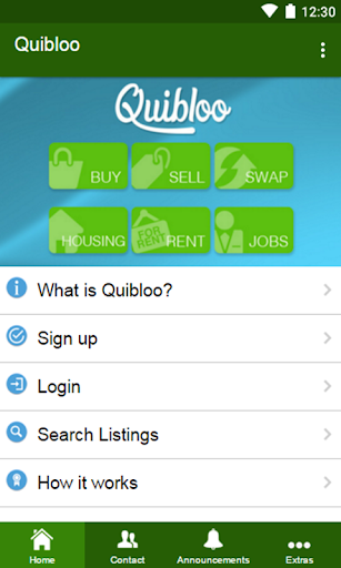 Quibloo: Buy. Sell. Rent. Swap