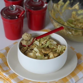 Cabbage Quinoa & Cashew Salad