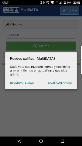 android Alerta Auto Screenshot 1