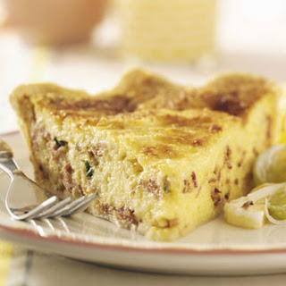 Bacon Swiss Quiche