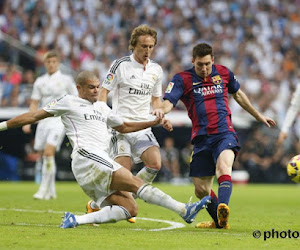 Pepe Luka Modric Lionel Messi Barcelona Real Madrid