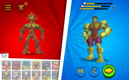 Mix+Smash: Marvel Mashers screenshot