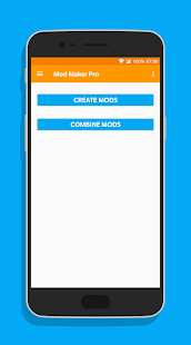 Mod Maker Pro for Minecraft PE - náhled