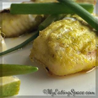 Oven Baked Green Pesto Tilapia