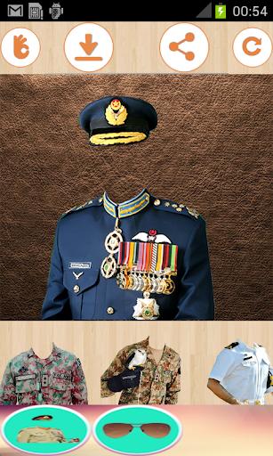 Latest Pak Army suit & Uniform changer editor 2018  screenshots 2