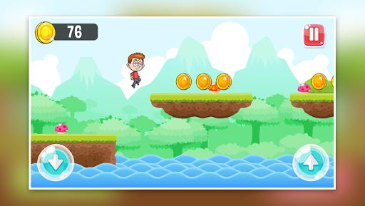 Télécharger Little Boy Run and Jump Adventure game APK MOD (Astuce) screenshots 3