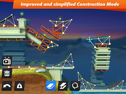 Bridge Constructor Stunts- screenshot thumbnail