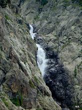 Photo: La cascada.