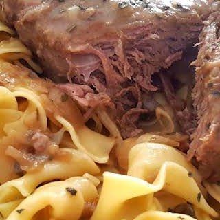 Awesome Slow Cooker Pot Roast.