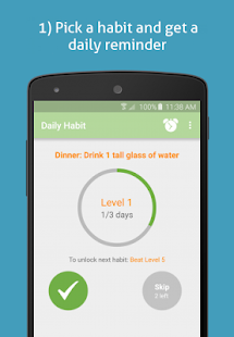 SimpleSteps- Eat healthier- screenshot thumbnail