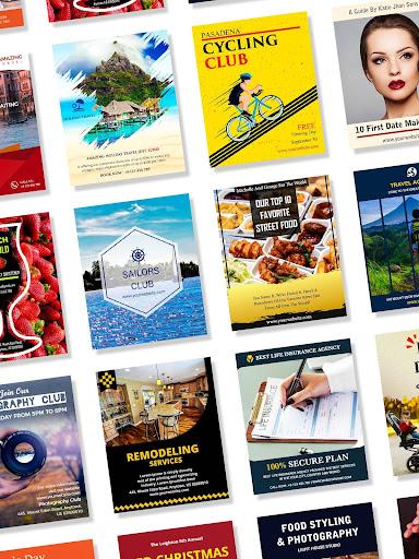 Poster Maker Flyer Maker Graphic Design App 28.0 Apk for Android 9