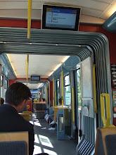 Photo: Еду на трамвае. Они там длинные, 3-4 вагона. Чтобы все могли спокойно сидеть.