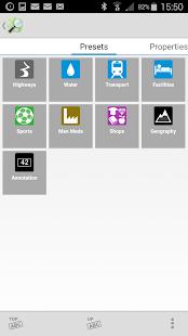 Vespucci OSM Editor - náhled