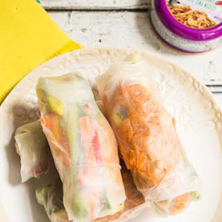 Spicy Thai Chili Tuna Summer Roll