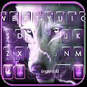 Wolf Lightning Keyboard Theme icon
