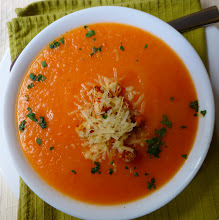 Photo: Tomato soup at the Posada del Angel hotel