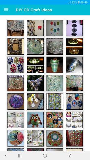 400+ Creative DIY CD Craft Ideas Offline 3 screenshots 2