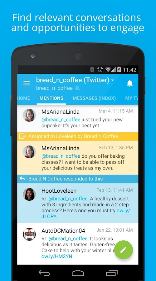 Hootsuite for Twitter & Social- screenshot