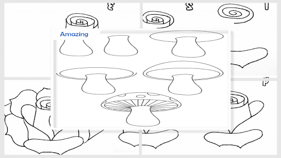 Simple Drawing Step by Step - náhled