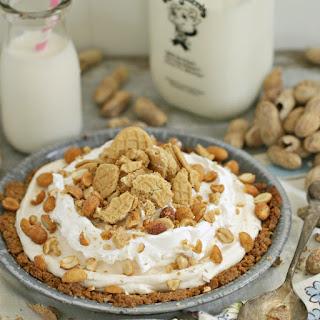 Vintage Frozen Peanut Butter Pie