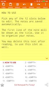 NOTEPAD Simple AdFree 3.4