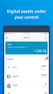 imToken – Bitcoin & Ethereum Wallet 1