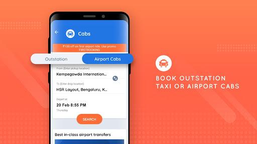 Goibibo - Hotel Car Flight IRCTC Train Bus Booking screenshot 7