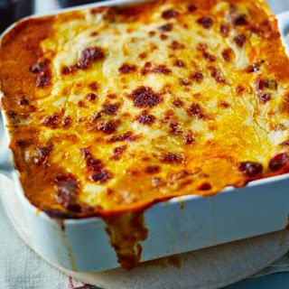 Mary Berry's lasagne al forno.