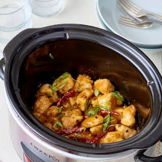 How To Make Slow Cooker General Tso's Chicken.