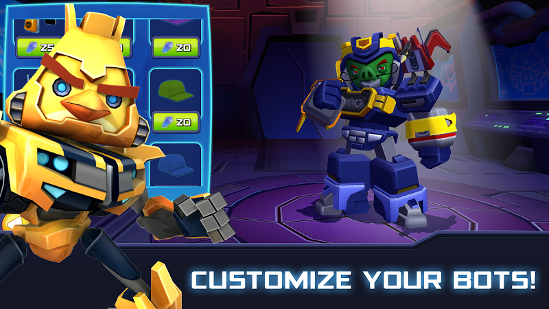 Angry Birds Transformers Screenshot 7