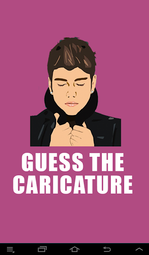 Guess The Caricature Quiz