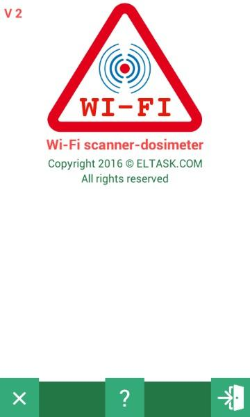 Scanner and dosimeter of WI-FI microwave radiation- screenshot
