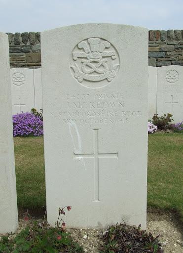 James McKeown grave