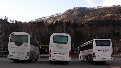 Photo: #239/241: SU 10542, SU 19279 og KH 17540 hos Telemark Bilruter i Seljord, 05.04.2007.