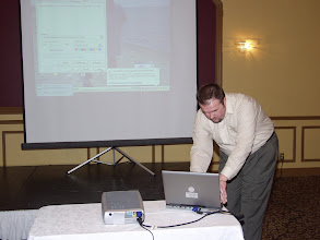 Photo: Ismet Lillic of Roberts Gordon presented a tech session on Infra-Red Radiant Heating