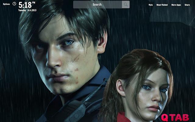 Resident Evil 2 Remake New Tab Wallpapers Chrome Web Store