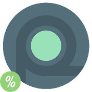 Rounder L - icon pack
