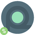 Rounder L - icon pack Icon