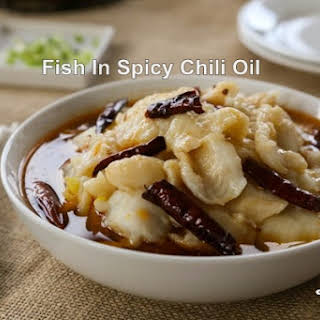 Fish in Spicy Chili Oil 水煮魚.