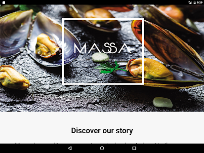 MASSA cuisine+bar- screenshot thumbnail