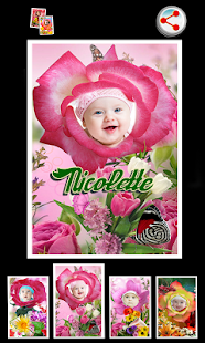 Photo Flower Frames - screenshot thumbnail
