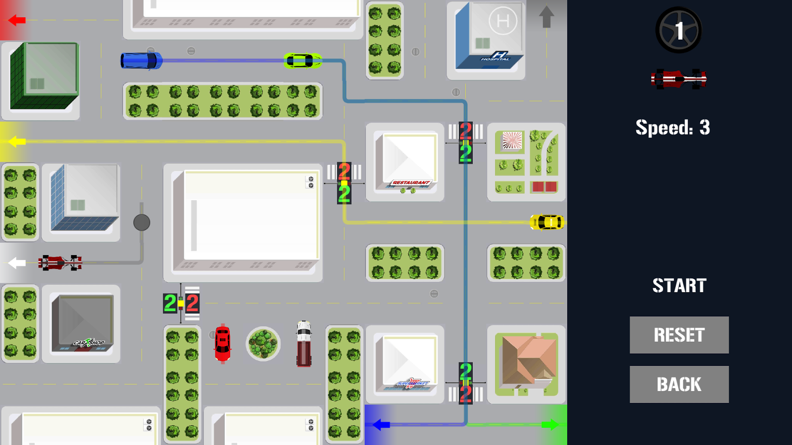 City Driving - Traffic Control- screenshot