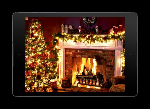 Christmas Fireplace LWP 1.0 screenshots 9
