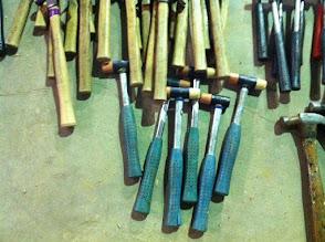 Photo: Rubber mallets